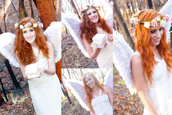 Ainslie and Meredith Young - my 2013 Christmas Angels!